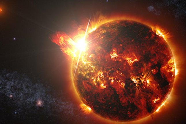 Scientists observed a coronal mass ejection of the surface of a star other than our sun for the first time. Photo by NASA/GSFC/S. Wiessinger