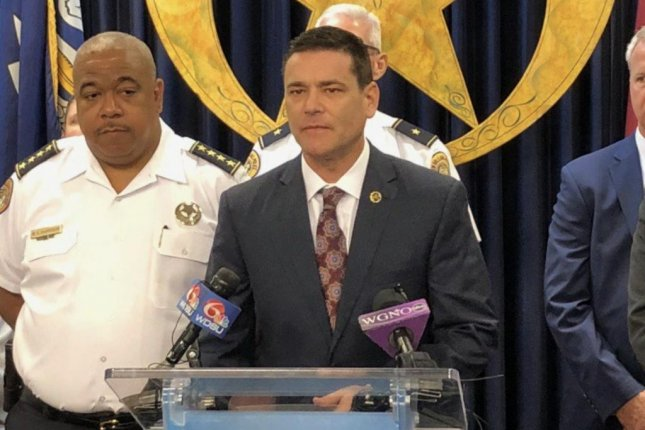FBI special agent Eric Rommal called for the suspects to turn themselves in at a Monday news conference. Photo courtesy of the FBI
