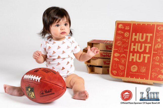 Pizza Hut is offering free pizza for a year to the parents of the first baby born after kickoff on Super Bowl Sunday. Photo courtesy Pizza Hut