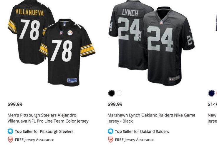 sports shoes c58ea ef1e8 Pittsburgh Steelers' Alejandro Villanueva has top-selling ...