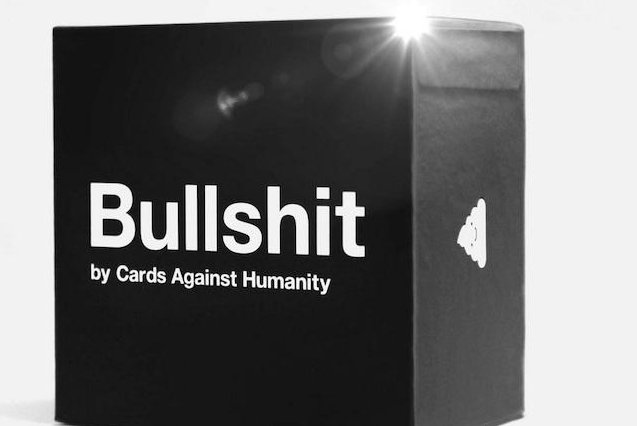 The only item offered on Cards Against Humanity's website during Black Friday sales. Photo courtesy Cards Against Humanity