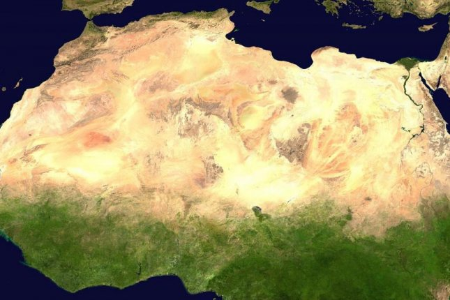 Dryland greening in Africa seen from space. Photo by NASA