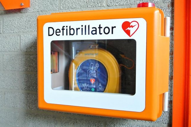 AED - automated external defibillator