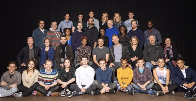 The cast of Harry Potter and the Cursed Child is now rehearsing on Broadway. Photo by Manuel Harlan/ Boneau/Bryan-Brown