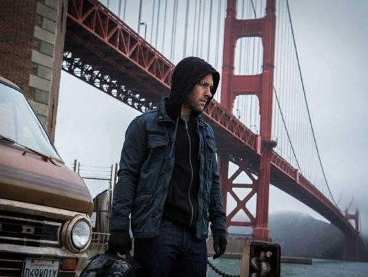 Paul Rudd as Scott Lang/Ant-Man. (Marvel)