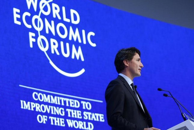 Canadian Prime Minister Justin Trudeau calls for balance between natural reserves and low-carbon future. Photo courtesy of the office of the Canadian prime minister