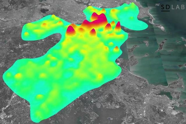A new model by scientists at MIT uses data on building size and usage to simulate energy usage on every single day of the year in Boston. Photo by MIT News/SD Lab