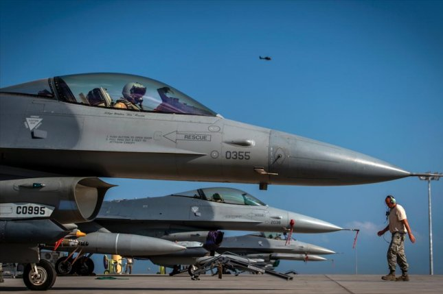 Pakistan hopes to move forward with an F-16 purchase from the United States under a new administration after it was stalled by critics in Congress. U.S. Air Force photo by Staff Sgt. Kenneth W. Norman