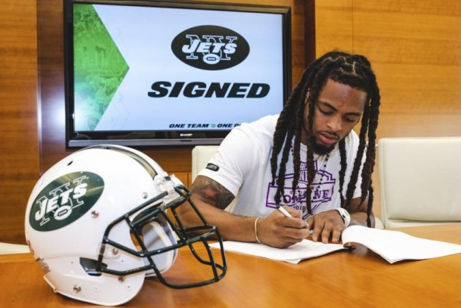 The New York Jets have half of their six-man draft class under contract after signing two sixth-round picks, cornerback Parry Nickerson (pictured) and defensive lineman Foley Fatukasi, to four-year deals on Sunday. Photo courtesy of New York Jets/Twitter