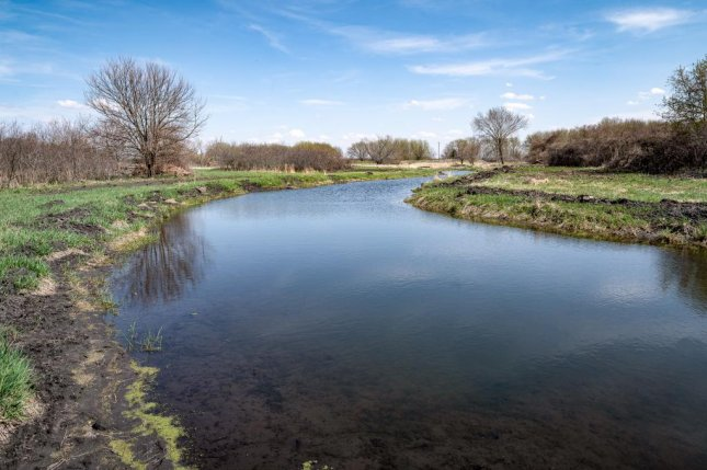 The Iowa Soybean Association is restoring oxbows, like the one pictured, as habitat for endangered Topeka shiners. Photo courtesy of the Iowa Soybean Association