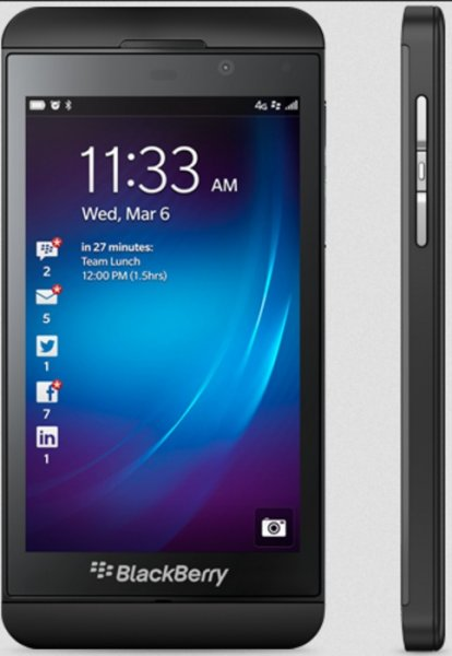 Software flaw makes BlackBerry Z10 phones vulnerable to hacking