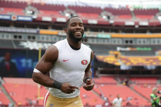 San Francisco 49ers wide receiver Pierre Garcon. Photo courtesy of the San Francisco 49ers.