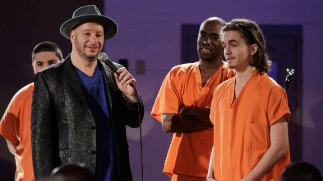 Jeff Ross and inmates from the Brazos County Jail. Comedy Central