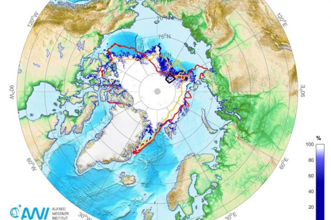 Arctic sea ice coverage drops below 1.5M square miles for second time since 1979