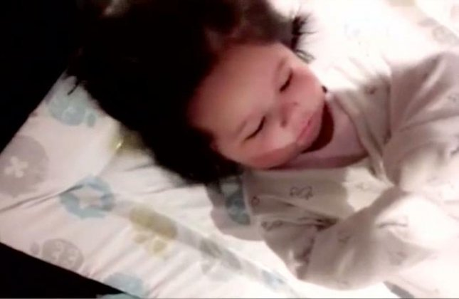 Watch British 4 Month Old Girl Turns Heads With Full Head Of Hair