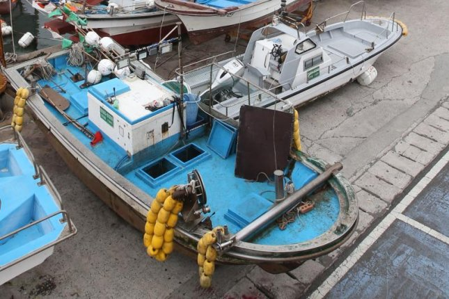 A South Korean fishing boat was captured by Russian authorities. File Photo by Yonhap/EPA