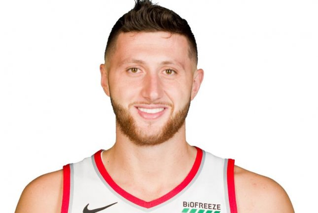 Jusuf Nurkic was averaging a career-high 15.6 points and 10.4 rebounds this season for the Portland Trail Blazers, before being lost for the season during a game against the Brooklyn Nets Monday in Portland. Photo courtesy of the NBA