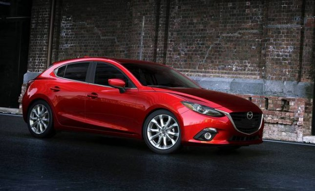 The 2014 Mazda3 made its world debut in New York, London, Istanbul and St. Petersburg, Russia, on June 26, 2013. The compact goes on sale in the United States in September. (Photo Courtesy of Mazda North American Operations)