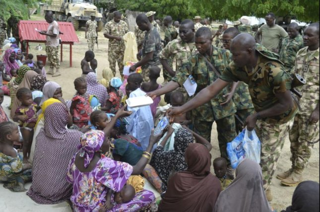 A Nigerian Army official has said it has defeated the Boko Haram militant Islamist organization, though the group's leader -- who was once rumored to be dead -- said he and his militants will continue fighting against Nigeria and the rest of the world. Photo courtesy of Nigerian Army