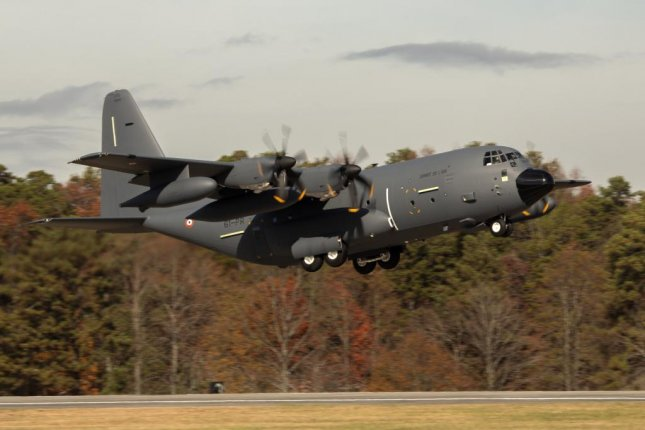 France's second KC-130J Super Hercules aerial refueler takes off from Lockheed Martin's facility in Marietta, Ga. Photo courtesy of Lockheed Martin