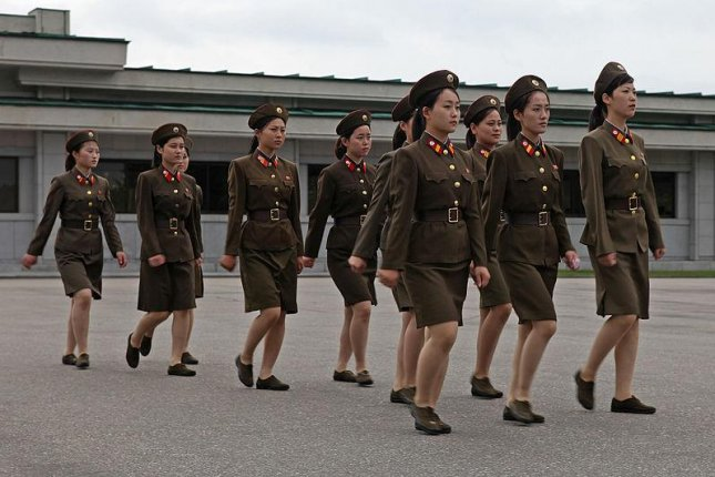 North Korea will soon require women to serve in the military in response to a troop shortage. Women are believed to currently comprise 22 percent of military personnel. Photo by Roman Harak/CC