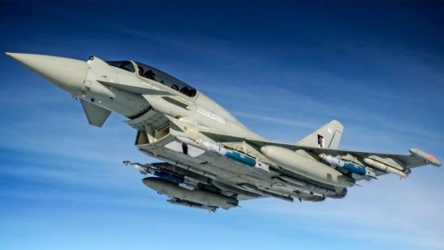 Upgrades to the Royal Air Force's Eurofighter Typhoons have entered the operational evaluation phase. BAE Systems said. Photo courtesy BAE Systems