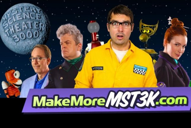 Mystery Science Theater 3000 launched a Kickstarter to fund new episodes on Wednesday. Photo courtesy of Shout! Factory