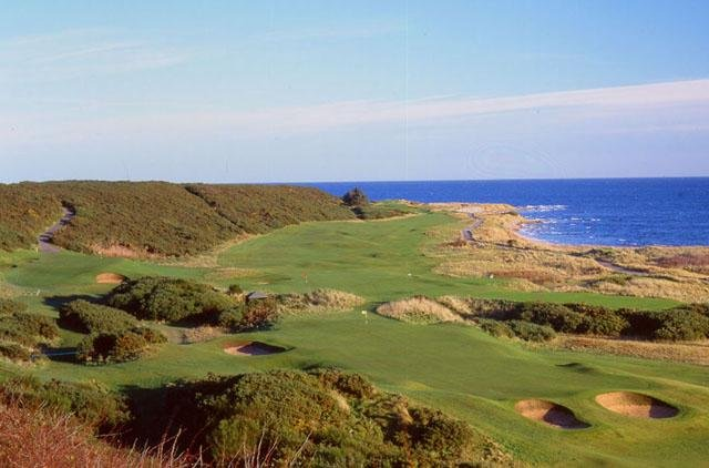 Tom Watson described the Royal Dornoch Golf Club in Scotland as the most fun I've ever had on a golf course. (UPI/Seyla Seng)