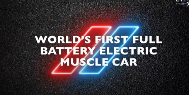 Dodge announced its first fully battery electric muscle car at Stellantis EV Day 2021. Photo courtesy of Stellantis/Snapshot