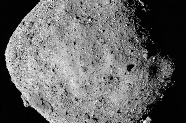 Evidence of water discovered on asteroid Bennu