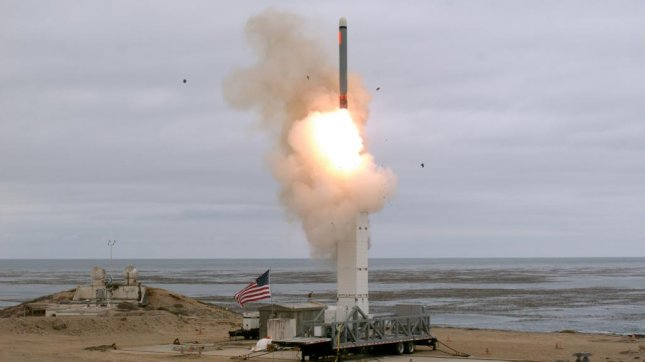 The United States Defense Department conducted a flight test of a ground-launched cruise missile at San Nicolas Island, California on Sunday prompting an outcry from North Korea. Photo courtesy of the U.S. Dept. of Defense Website