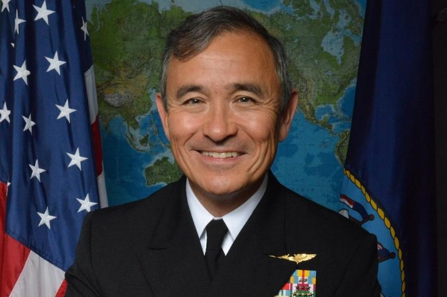 In an interview Monday, Navy Pacific Fleet commander Adm. Harry B. Harris said North Korea is a threat, and China is making neighbors nervous with its programs in the South China Sea. Photo courtesy of U.S. Navy