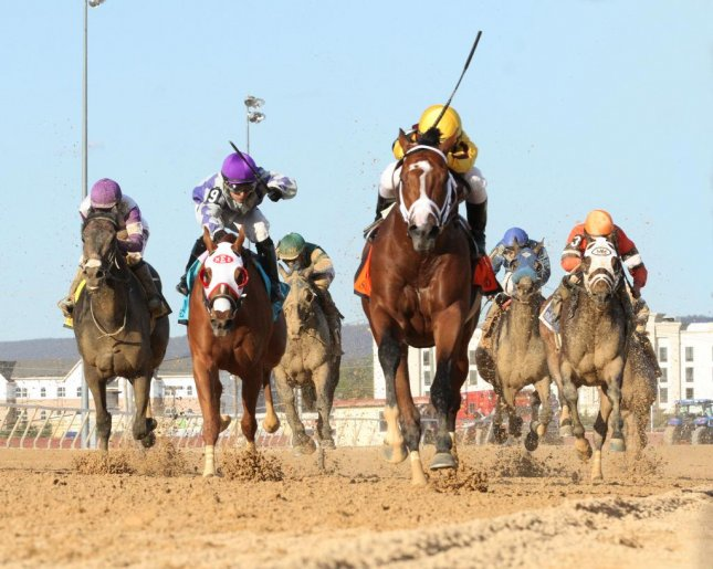 Stanford led all the way to win Saturday's $1.25 million Charles Town Classic in West Virginia. Charles Town photo