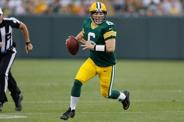The Philadelphia Eagles signed former Green Bay Packers quarterback Joe Callahan (6) to a two-year contract, the team announced Monday. Photo courtesy of Green Bay Packers/Twitter