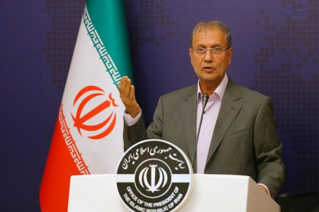Iranian government spokesman Ali Rabiei, shown at a news conference in Tehran on August 4, 2019, said Monday the country will increase uranium enrichment. Photo by Stringer/EPA-EFE