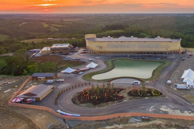 The controversial new Noah's Ark attraction at a religious theme park in Kentucky hopes to attract 2 million visitors in its first year. Photo courtesy of Facebook/Ark Encounter