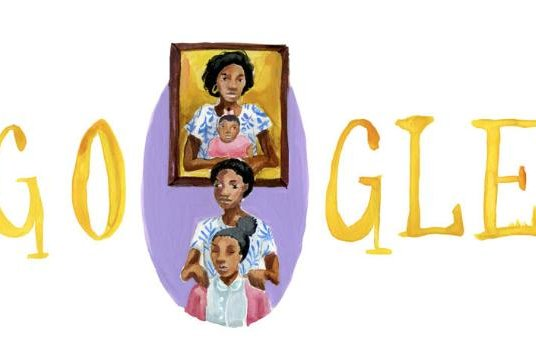 This Doodle, from high school senior Azantza Pena Popo, won the 2019 Doodle for Google national competition. Image courtesy of Google