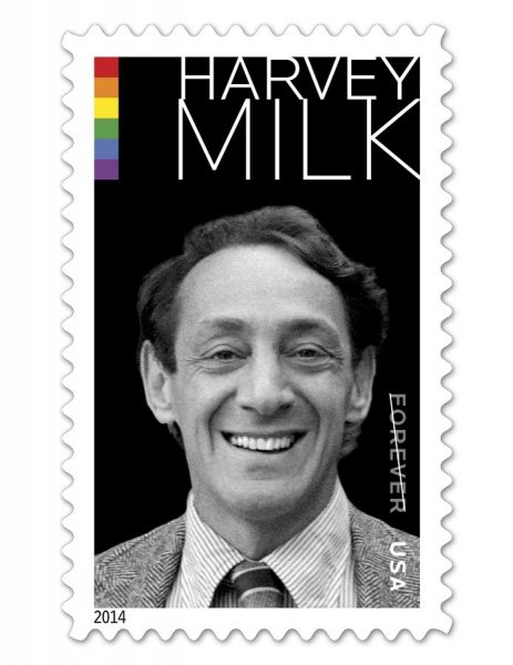 The White House will hold a ceremony to dedicate the Harvey Milk postage stamp. Harvey's nephew, Stuart Milk, is set to attend in his honor. (USPS)