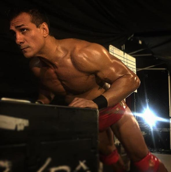 WWE Superstar Alberto Del Rio has left the company after requesting a release. Photo courtesy of WWE/Instagram