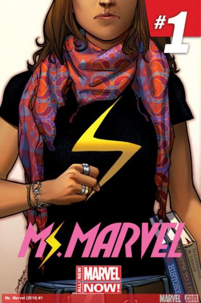 U.S. comic-book publisher Marvel is introducing a new Ms. Marvel Feb. 5. The superhero's alternate persona will be a Pakistani Muslim teenage girl. Image courtesy of Marvel.