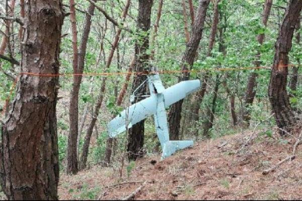 An unmanned aerial vehicle identified as a drone in South Korea was spying on the recently deployed THAAD battery, Seoul military says. File Photo courtesy of Republic of Korea Joint Chief of Staff