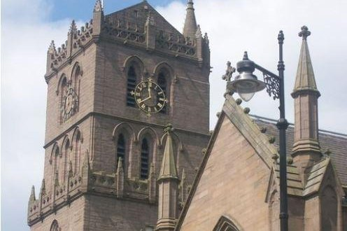 St. Mary's Tower is the oldest building in Dundee, Scotland, dating to late 15th century. It was one of five cities in Great Britain whose submissions as a host of the European capital of culture in 2023 were rejected because Britain is leaving the European Union by 2019. Photo by Wikimedia Commons/CLT Smith