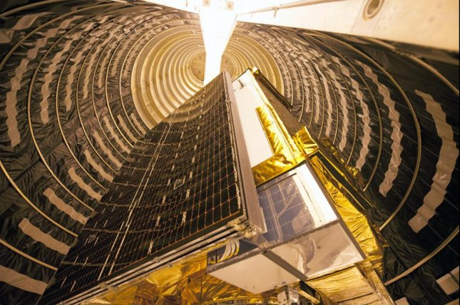 GPS IIF will provide improved navigational accuracy through advanced atomic clocks, a longer design life than previous GPS satellites. United Launch Alliance courtesy photo