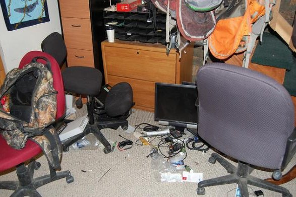The U.S. Fish and Wildlife Service released photos of the mess left after the 41-day occupation and armed stand off at the Malheur Wildlife Refuge in Oregon. It will cost some $4 million to clean up and renovate some office areas, officials said. Another $2 million was spent during the siege. Photos U.S. Fish and Wildlife Service/Flickr