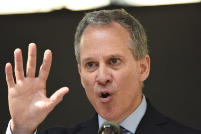New York Attorney General Eric T. Schneiderman said money from the $5 billion Goldman Sachs settlement will help New York residents rebuild communities as they attempt to recover from the financial crisis. File photo by a katz/Shutterstock