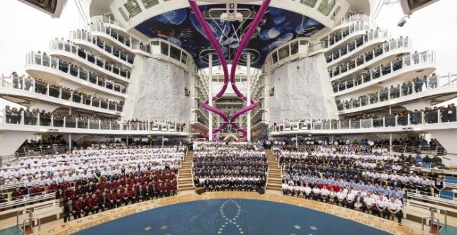 Royal Caribbean completes construction of world's largest cruise ship Harmony of the Seas