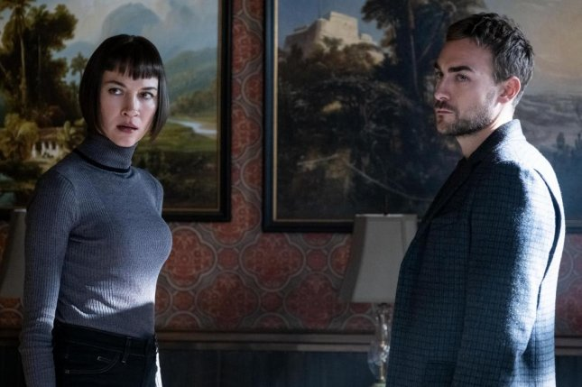 Sydney Lemmon (L) and Tom Austen can now be seen in the horror drama, Helstrom. Photo courtesy of Hulu