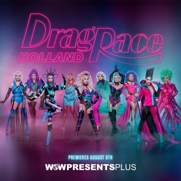 The cast of Drag Race Holland Season 2 has been announced. Image courtesy of WOW Presents Plus