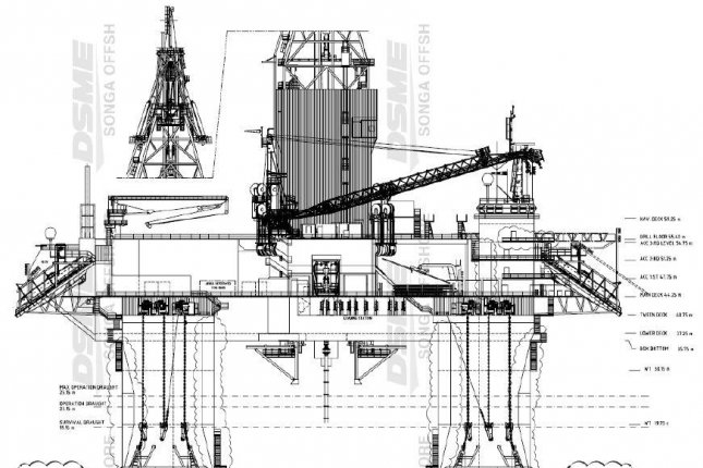 Songa Offshore says it's calling on its shareholders to accept an acquisition offer from rival Transocean. Schematic courtesy of Songa Offshore