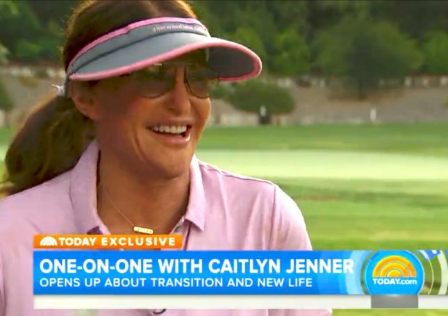 Caitlyn Jenner says she remembers nothing from February's crash apart from the fact it happened. Photo by Today/NBC
